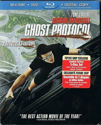 Mission: Impossible - Ghost Protocol (Blu-ray/DVD,Digital , Canadian) Slipcover