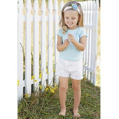Mud Pie E8 Baby Toddler Girl Petite Petals Ruffle Neck Dress 1142260 Choose Size