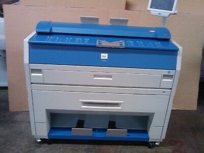 Kip 3100 wide format Plotter 2 roll Print, scan, copy (Does a good test print)