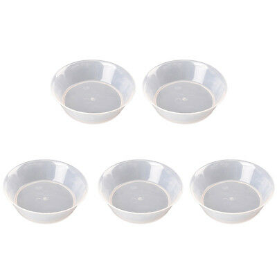 Round Shape Planter Pallet Plant Pot Drip Tray for Gardon Balcony Office Garden