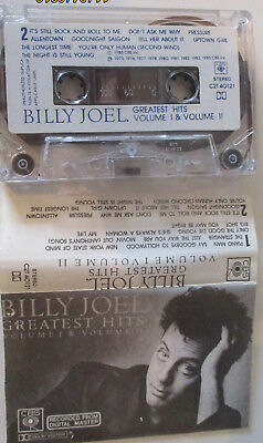 MC Billy Joel - Greatest Hits: Volume I & II (1985) Musikkassette
