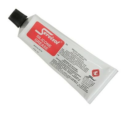 SERVISOL Silicone Grease - 50g Tube - High Insulation