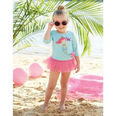 Mud Pie E8 Baby Toddler Girl Mermaid Rash Guard Swim Set 1122136 Choose