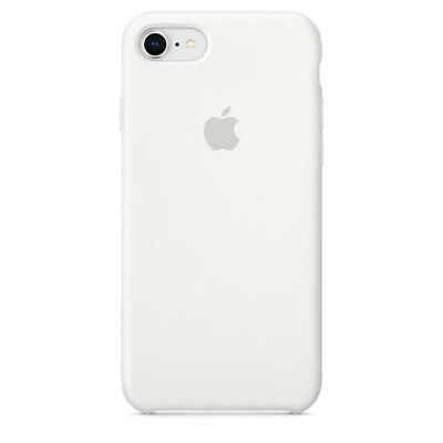 Apple Custodia Cover Per Iphone 7 8 4,7'' Silicone Case Originale Bianco