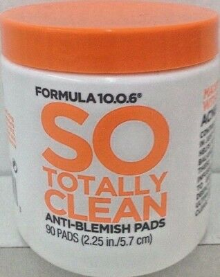 Formula 10.0.6 So Totally Clean Anti-Blemish Pads 90 ct