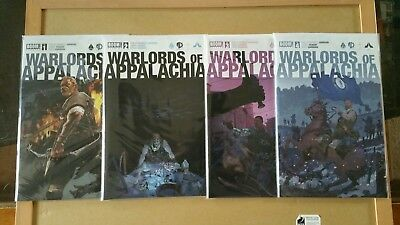 Warlords of Appalachia #1-4 Complete Series Boom! Studios
