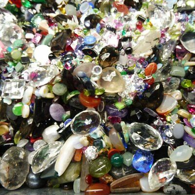 1000cts Mixed Chipped, Abraided and Rejection Gems Wholesale Lot