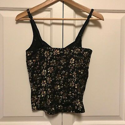 Intimately Free People Womens Multi-Color Floral Print Camisole Top Size S/P