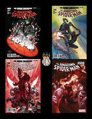 Amazing Spider-Man (2018) #797 798 799 800 4-Issue Set [NM] 1st App Red Goblin