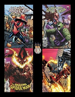 Amazing Spider-Man (2018) #797 798 799 800 4-Issue Connecting Variant Set [NM]