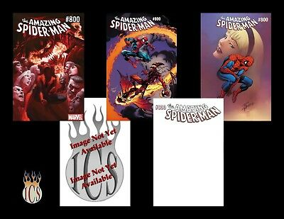 Amazing Spider-Man #800 (2018) 5-Cover Variant Set [NM] Ross. Romita, Bagley