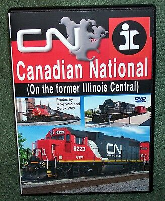 20385 Train Video Dvd Canadian National Cn On Former Illinois Central