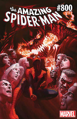 Amazing Spider-Man #800 (2018) Ross Regular Cover A (3x Copies) [NM] Red Goblin