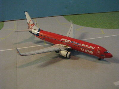 Gemini Jets (Gjvoz560) Virgin Blue 737-800 1:400 Scale Diecast Metal Model