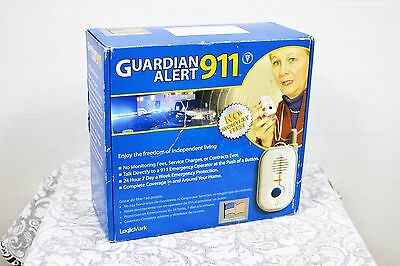 New Logicmark 30511 Guardian Alert Panic Phone No Monthly Fees or Service Charge