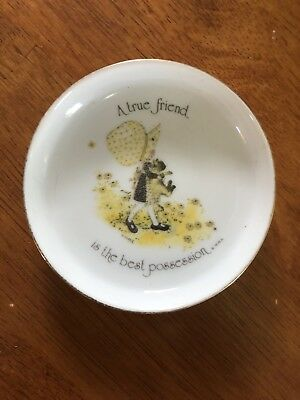Holly Hobby Trinket Dish True Friend Best Possession