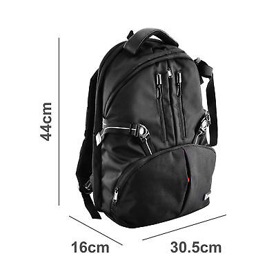 Camera Waterproof Photography Backpack Bag Lens Case For Canon Nikon Sony Pentax
