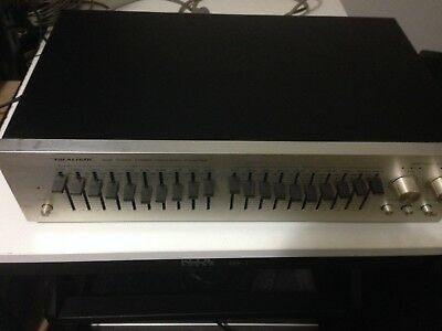 Vintage Realistic Stereo Frequency Equalizer #31-1986 In Original Box & Manual