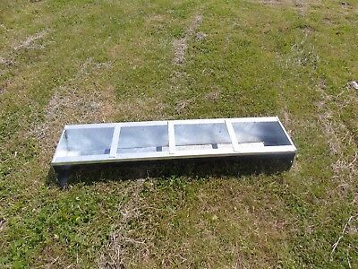 "4Ft 6"" Galvanised Pig Trough"