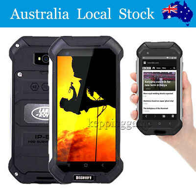 Smartphone Land V19 Rover Unlocked Android 6.0 Rugged Quad Core Dual SIM NEW