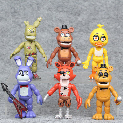 FNAF Five Nights at Freddy's PVC Action Figures Dolls Toys Kids Collection 12pcs