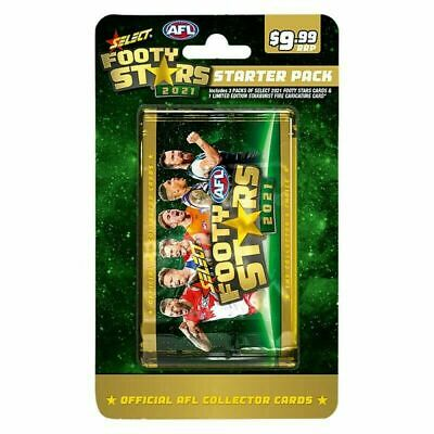 2019 Select Afl Footy Stars Factory Sealed Box 36 Packs Trading Cards In Stock