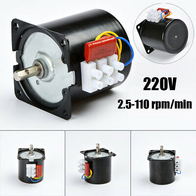 AC 220V 14W High Torque Low Noise 50Hz Gear-Box 60KTYZ Synchronous Gear Motor