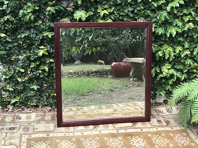 Quality Vintage Oriental Chinese Rosewood Bedroom,Hall Mirror~Timber~