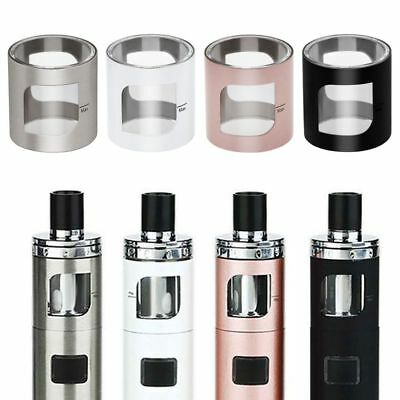 Replacement Tube Spare Glass with Metal Cover Capacity for Aspire PockeX 2ml