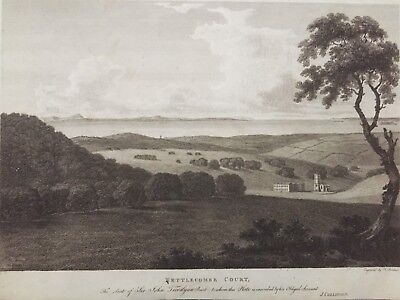 1791 Antique Print; Nettlecombe Court, near Williton, Somerset