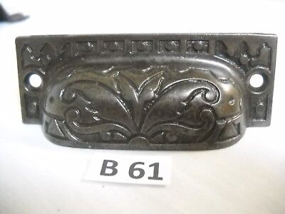 Antique Eastlake Cast Iron Bin Drawer Pulls 1880S