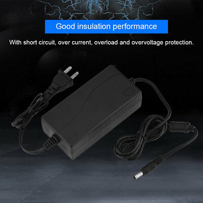 48V 2A AC to DC Power Supply Adapter 100-240V for PoE Switch Injector CCTV LED A