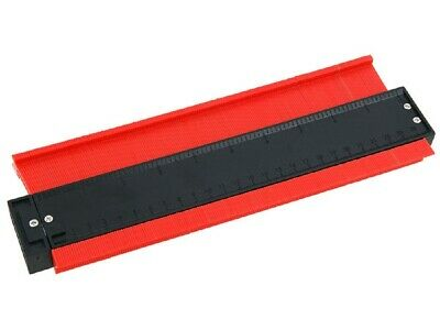 "10"" Long Deep Plastic Contour Profile Gauge Cutting Guide flooring tiling etc"