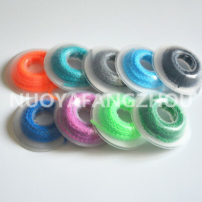 10 X Dental Orthodontic Continuous Elastolink Elastic Ultra Power Chain Colorful