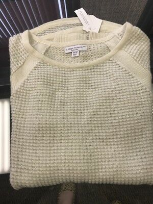 NWT Women's Maternity Ivory Sweater, Size XS