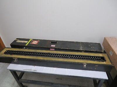 "Starrett Webber - 50"" Standard Reference/Calibration/Master Length Bar - RBC 49"