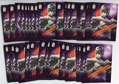 Lot of 68 2016 Topps Doctor Who #10 Susan Foreman Companions Across Time Cards!!