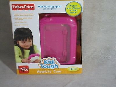 Fisher Price Kid-Tough Apptivity Case for iPhone & IPod Touch Pink 3+ NEW