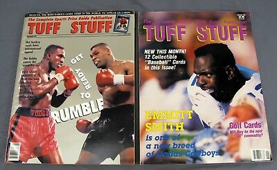 Case Of 25 October 1991 Tuff Stuff Sports Card Price Guide