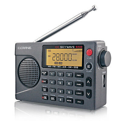 NEW! CC SkyWave SSB AM FM SW WX Aviation And SSB Bands