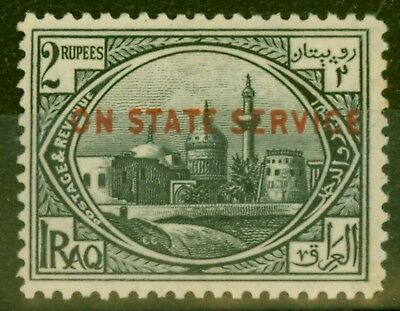 Iraq 1923 2R Black SG063 MNH