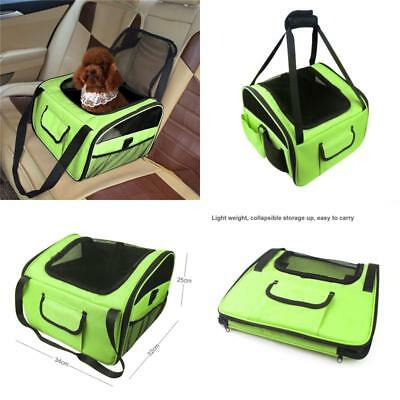 Car Seat For Dog Pet Cat Booster Carrier Portable Foldable Puppy Travel Bag Cage