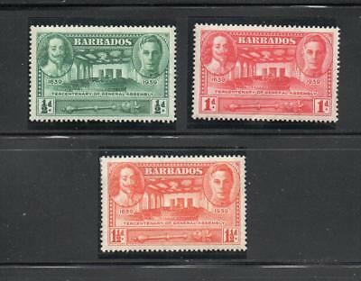 Barbados 1939 300 Yrs of General assembly. Mint  One postage for multi buys. Rx