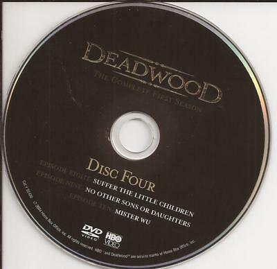Deadwood (DVD) HBO First Season 1 Disc 4 Replacement Disc U.S. Issue Disc Only!