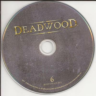Deadwood (DVD) HBO Third Season 3 Disc 6 Replacement Disc U.S. Issue Disc Only!