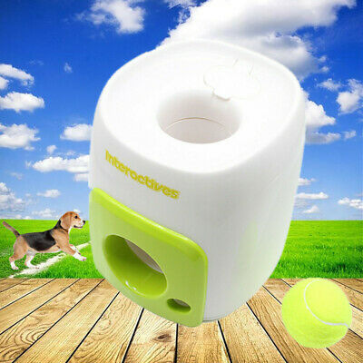 Puppy Pet ball Thrower Interactive Dog Toy Training Fetch Thrower