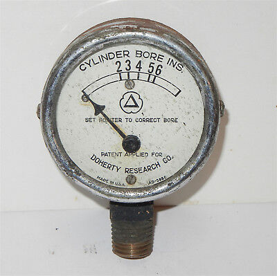 Vintage Cities Service Gas Service Station Doherty Research Cylinder Bore Gauge