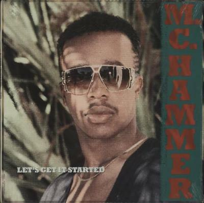MC Hammer Let's Get It Started vinyl LP album record USA C1-90924 CAPITOL 1988