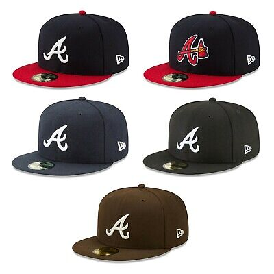 Atlanta Braves ATL MLB Game Authentic 59FIFTY Fitted Cap - 5950 A/Axe Logo Hat