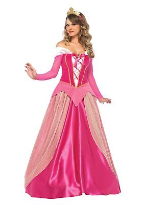 e3cb7df0c15 LADIES SLEEPING BEAUTY Costume Women Princess Aurora Cosplay Gown ...